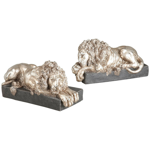 Chelsea House Pair of Kensington Lions