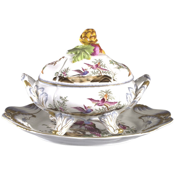 Chelsea Bird Tureen Bowl - GDH | The decorators department Store