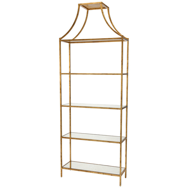 Lisa Kahn Classic Gilt Shelf
