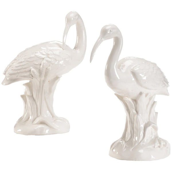 Chelsea House Ibis Pair White Figurine - GDH | The decorators department Store