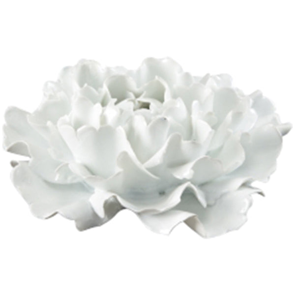 Chelsea House Large White Chinese Flower - GDH | The decorators department Store