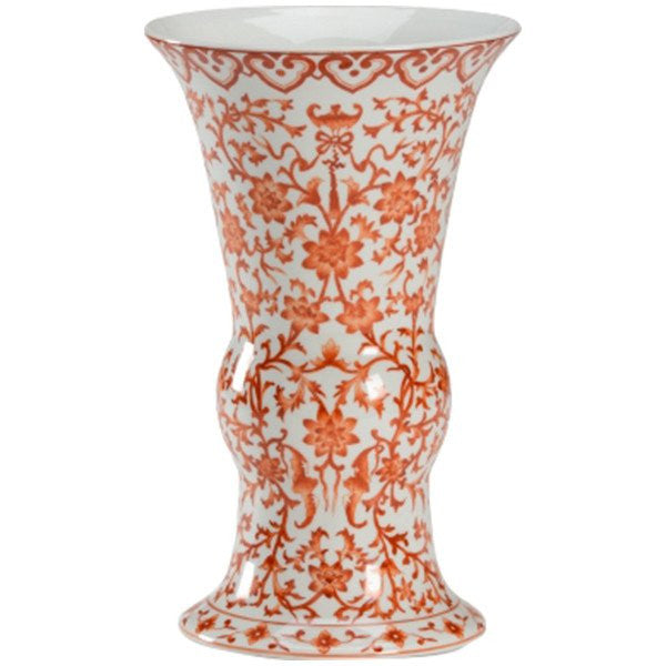 Hand Decorated Porcelain Pumpkin Vase