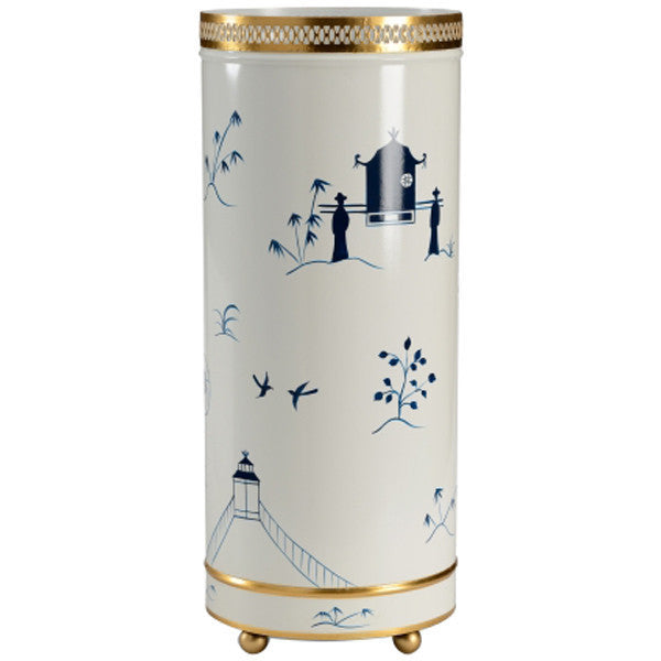 Chelsea House Chinoiserie Umbrella Stand - GDH | The decorators department Store