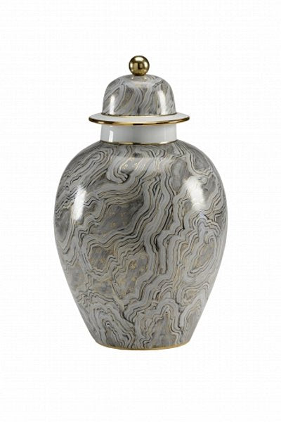 Chelsea House Marbled Grey Urn