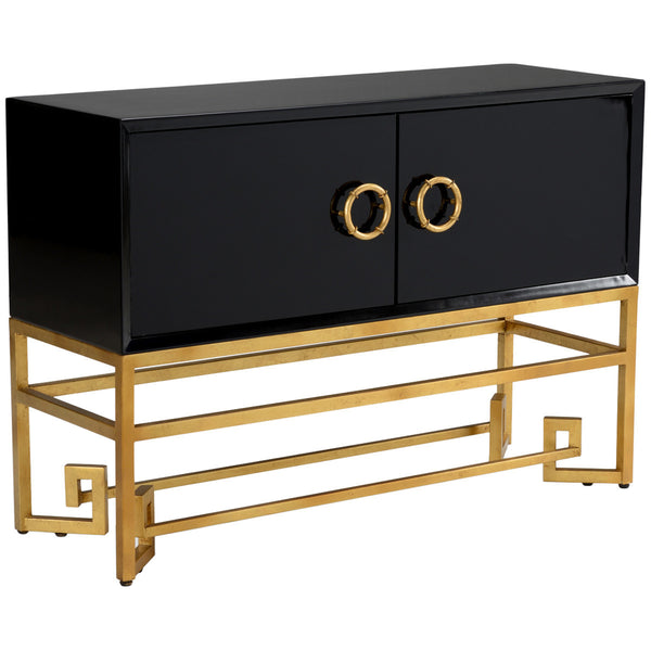 Chelsea House Decker Black Cabinet