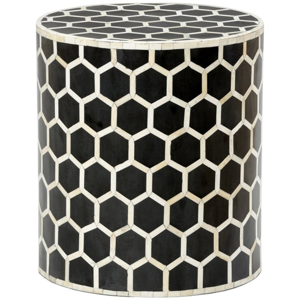 Chelsea House Lincoln Side Table. | Black