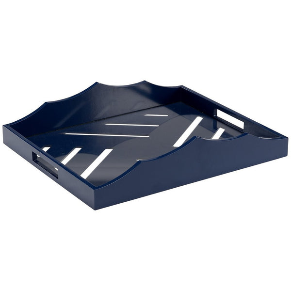 Chelsea House Miles River Tray |  Blue
