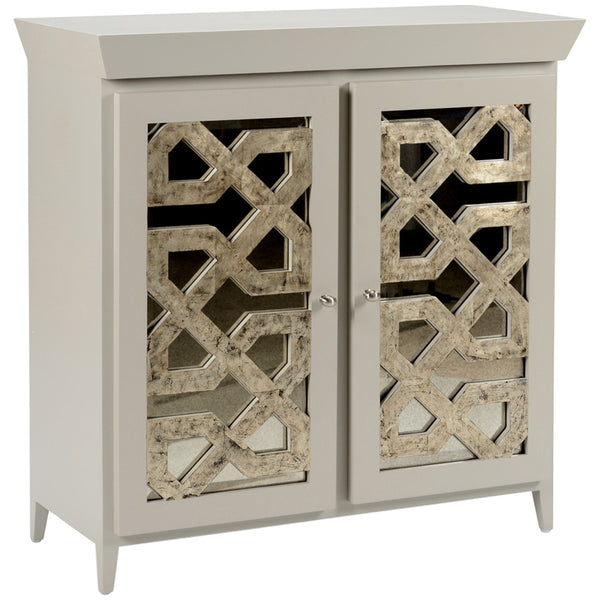 China Lattice Chest