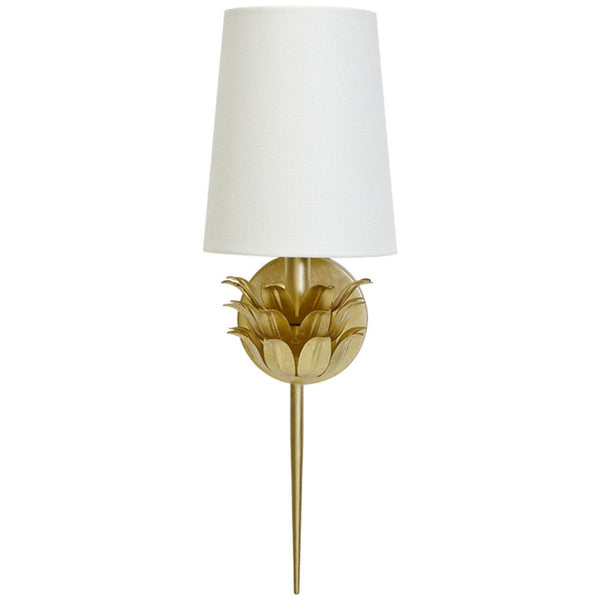 Delilah Sconce | Gold - GDH | The decorators department Store