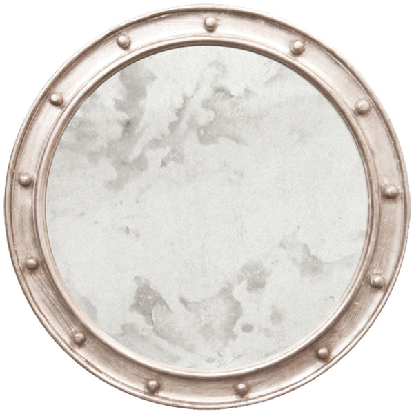 Federal Round Mirror - Silver - GDH | The decorators department Store