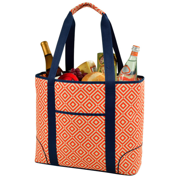Extra Large Insulated Cooler Tote | Orange - GDH | The decorators department Store