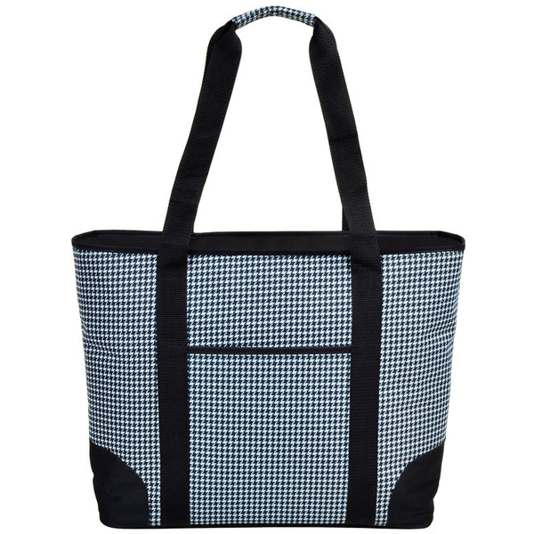 Extra Large Insulated Cooler Tote | Houndsteeth - GDH | The decorators department Store