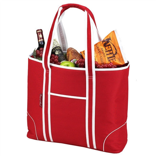 Extra Large Insulated Cooler Tote | Red - GDH | The decorators department Store