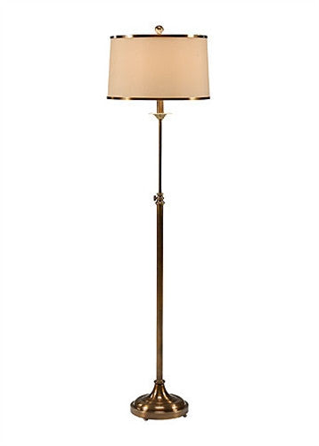 Iron and Brass Adjustable Floor Lamp - GDH | The decorators department Store