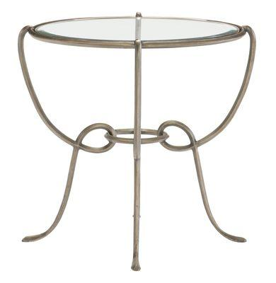 Bonita Round Metal Chairside Table Base