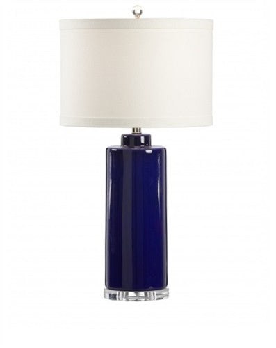 Edith Table Lamp in Royal Blue - GDH | The decorators department Store