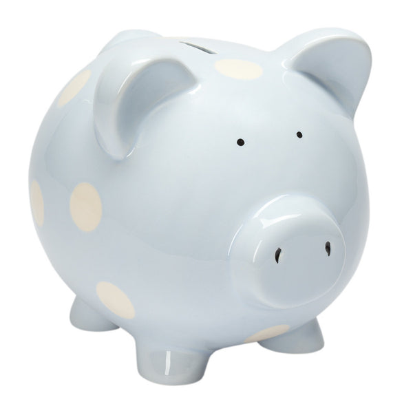 Classic Piggy Bank (Pastel Blue) - GDH | The decorators department Store