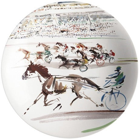 Gien | Cavaliers Cake Platter - GDH | The decorators department Store