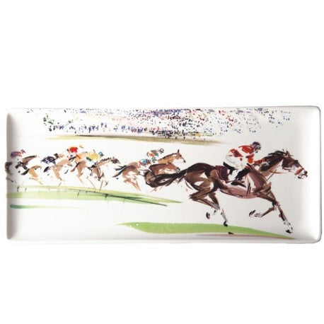 Gien | Cavaliers Oblong Serving Tray - GDH | The decorators department Store
