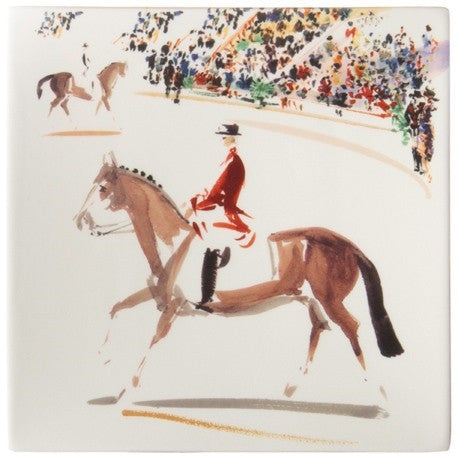 Gien Cavaliers Square Serving Platter - GDH | The decorators department Store