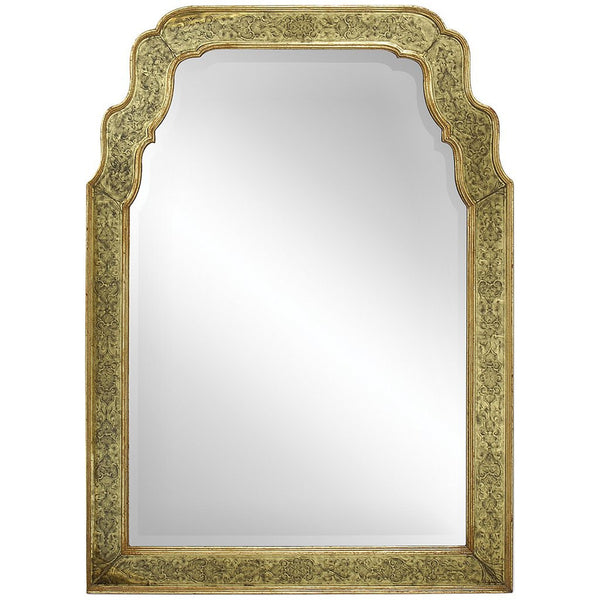 Gold Eglomise Mirror - GDH | The decorators department Store