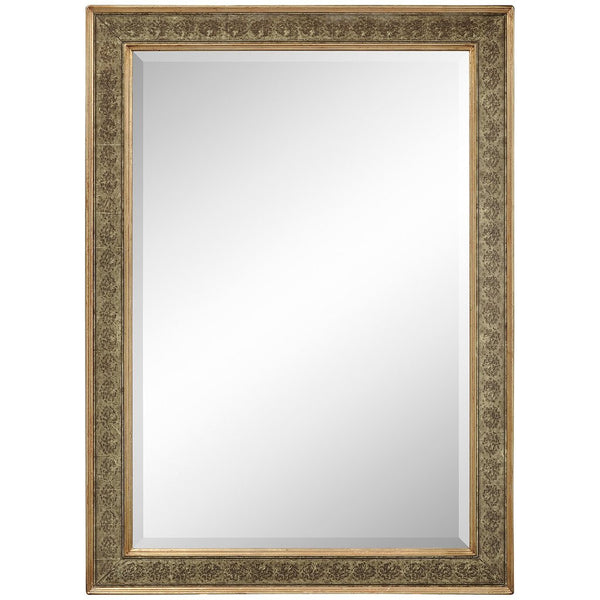 Rectangular Mirror with Eglomise Gilt Borders - GDH | The decorators department Store