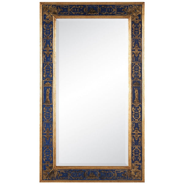 Buckingham Rectangular Mirror | Azure - GDH | The decorators department Store
