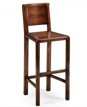 Planked Walnut Barstool - GDH | The decorators department Store