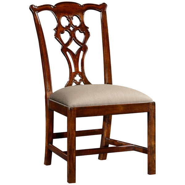 Chippendale Style Classic Mahogany Side Chair - GDH | The decorators department Store - 1
