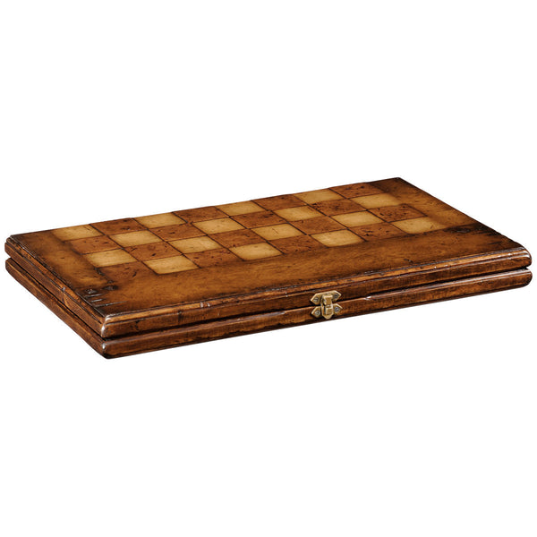 Folding Walnut Games Board - GDH | The decorators department Store - 1