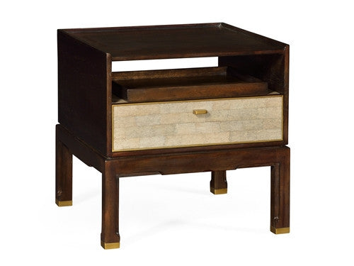 Langkawi Small bedside table with a separate tray - GDH | The decorators department Store