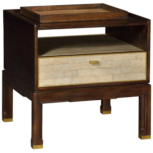 Langkawi Small Bedside Table with A Separate Tray