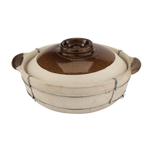 2 Quart Dual Handled Clay Cooking Pot - GDH | The decorators department Store
