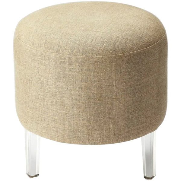 Borrego Canvas and Acrylic Pouffe