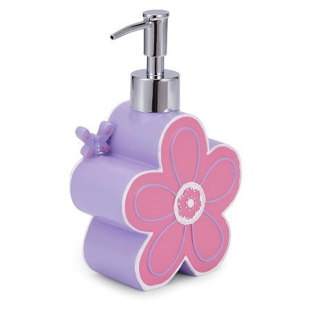 Butterfly Bath Accessories | Lotion Dispenser