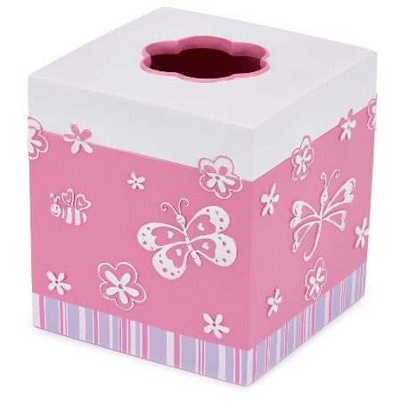 Butterfly Bath Accessories | Tissue Holder