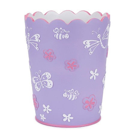 Butterfly Bath Accessories | Wastebasket