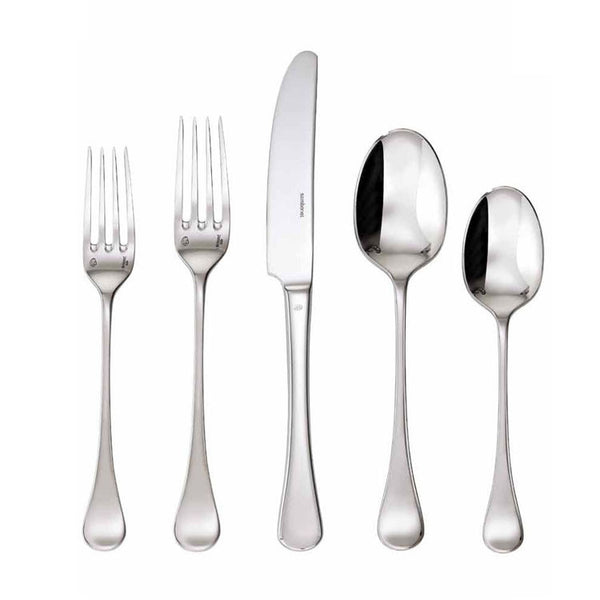 Sambonet Queen Anne Stainless 5 Piece Place Setting - GDH | The decorators department Store