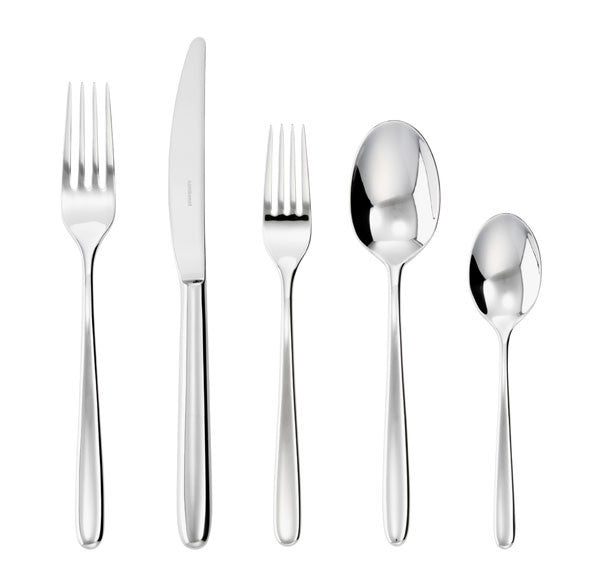 Sambonet Hannah Stainless 5 Piece Place Setting - GDH | The decorators department Store