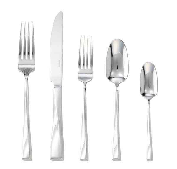 Sambonet Twist Stainless 5 Piece Place Setting - GDH | The decorators department Store