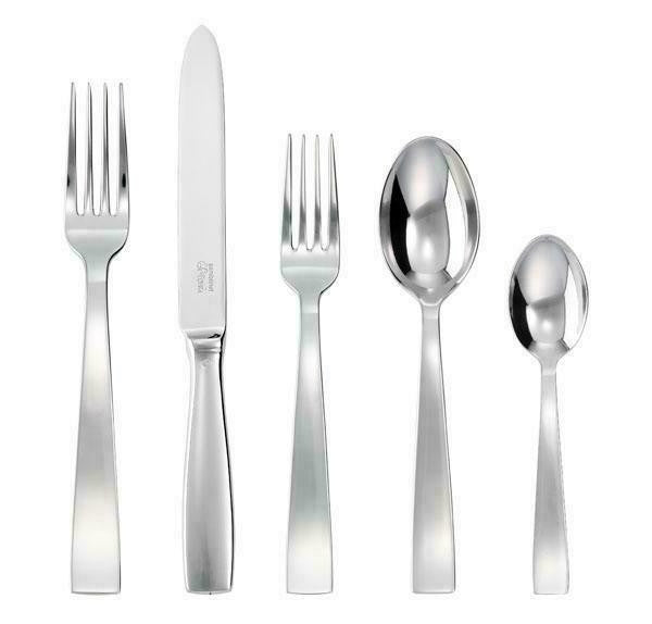 Sambonet Gio Ponti Stainless Steel 5 Piece Place Setting - GDH | The decorators department Store