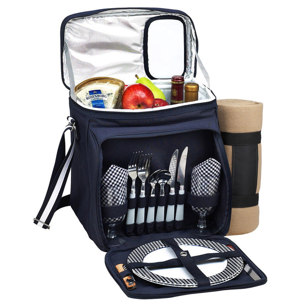 Picnic Cooler for Two with Blanket - GDH | The decorators department Store