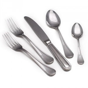 Sambonet Contour Silverplate 5 Piece Place Setting - GDH | The decorators department Store