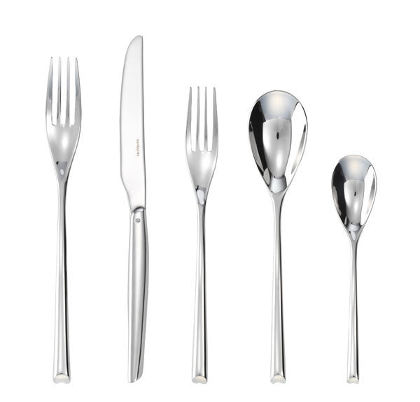 Sambonet Twist Silverplate 5 Piece Place Seting - GDH | The decorators department Store