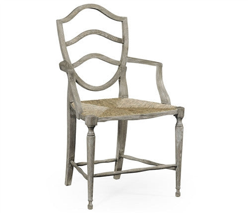 William Yeoward | Bodiam armchair (Grey oak) - GDH | The decorators department Store
