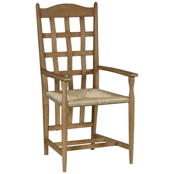 Tarvin Vintage Oak Armchair - GDH | The decorators department Store - 1