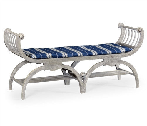 Double Lucca bench by William Yeoward - GDH | The decorators department Store