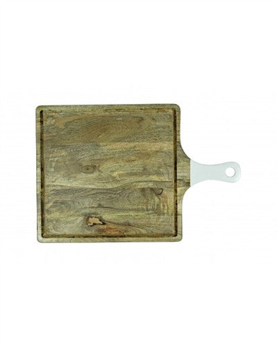 Square cutting board with handle, Large - GDH | The decorators department Store