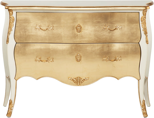 Melea Markell Louis XVI Style Commode | Gold
