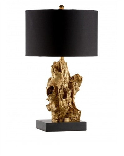 Bayou Table Lamp in Gold - GDH | The decorators department Store